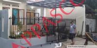 Pagar Minimalis Rumah Cantik harga murah di Bogor