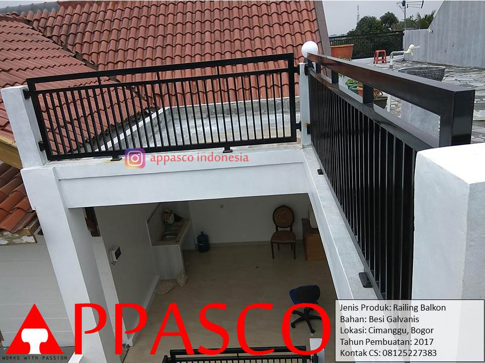 Pagar Balkon Rumah Minimalis Desain Rumah Minimalis 2019