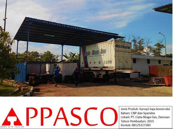 Kanopi Baja Industri Dawuan