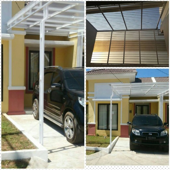 kanopi minimalis dan anti maling untuk rumah minimalis