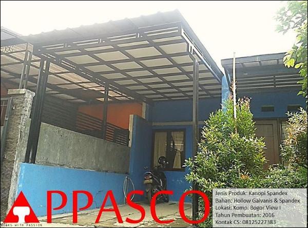 Kanopi Spandex Plafon GRC di Bogor