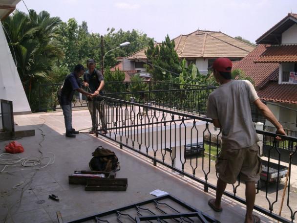 Kisaran Harga Railing Balkon Per Meter Terbaru Jual Kanopi Tralis