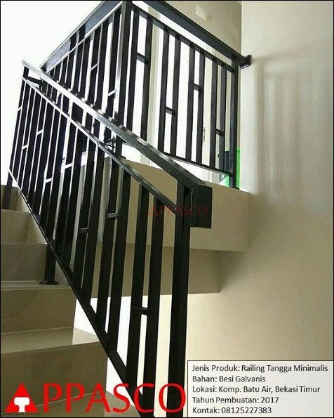 railing tangga minimalis bekasi