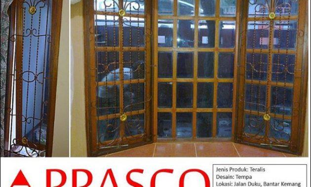 teralis jendela model klasik besi tempa