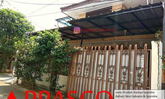 Kanopi Spandex Minimalis Modern di Duren Sawit Jakarta