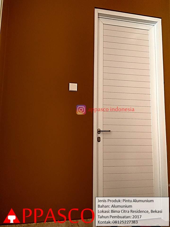 Pintu Minimalis Aluminium di Bekasi