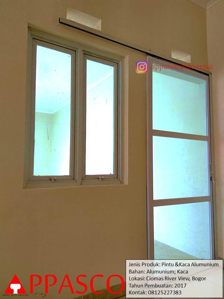 Jasa Pembuatan Pintu Aluminum dan Kaca di Bogor Ciomas