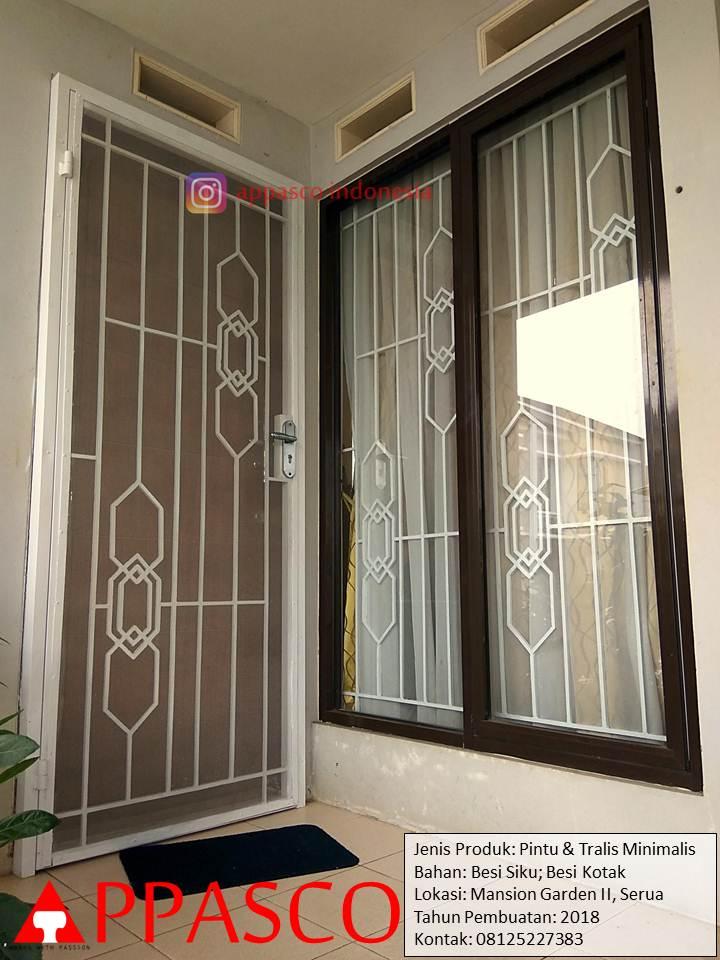 Jasa Pembuatan Teralis Pintu Gedung 082241252500 Kayamara Property