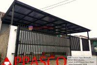 Pagar Minimalis Garis2 Vertikal di Green Citayam Bogor