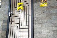 Pintu Teralis Minimalis di Kinara Residence