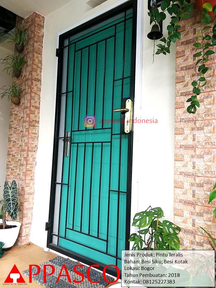 Pintu Teralis Rumah Minimalis Keren Unik di Bogor